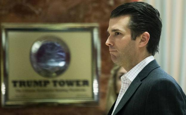 Donald Trump Jr., hijo del presidente.