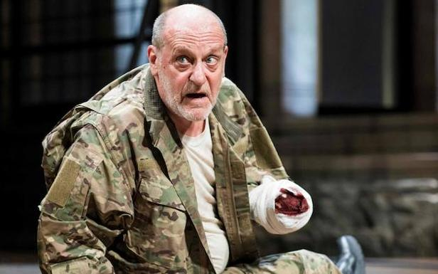 David Troughton interpreta 'Tituts Andronicus'. /Helen Maybanks (Afp)
