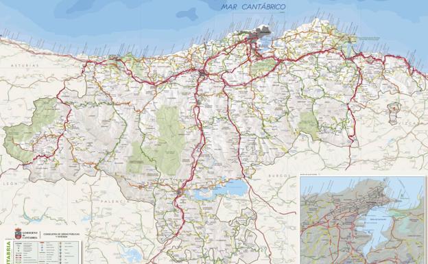 Cantabria Estrena Mapa De Carreteras El Diario Montanes
