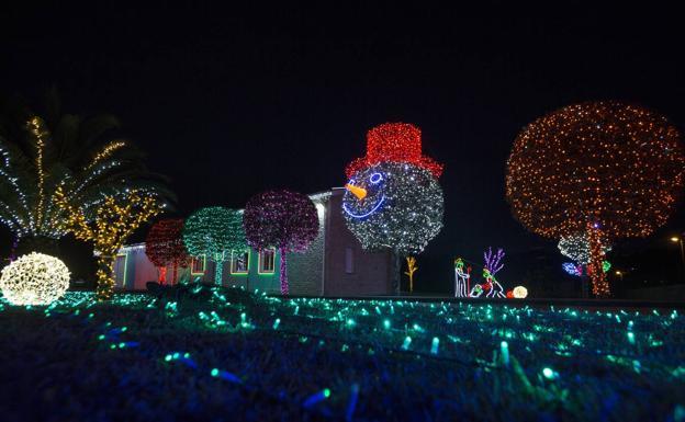 50b6875f5fb Las casas donde se aloja la Navidad