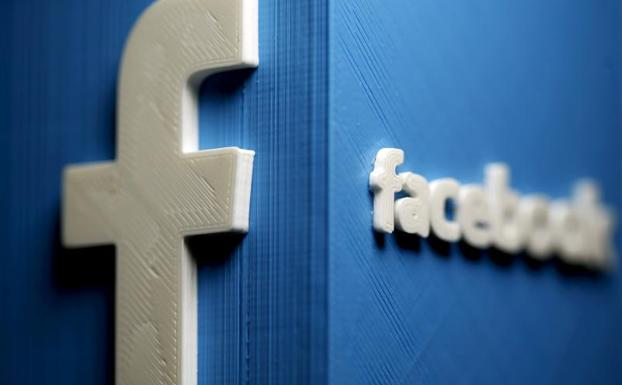 El logo de Facebook./Reuters