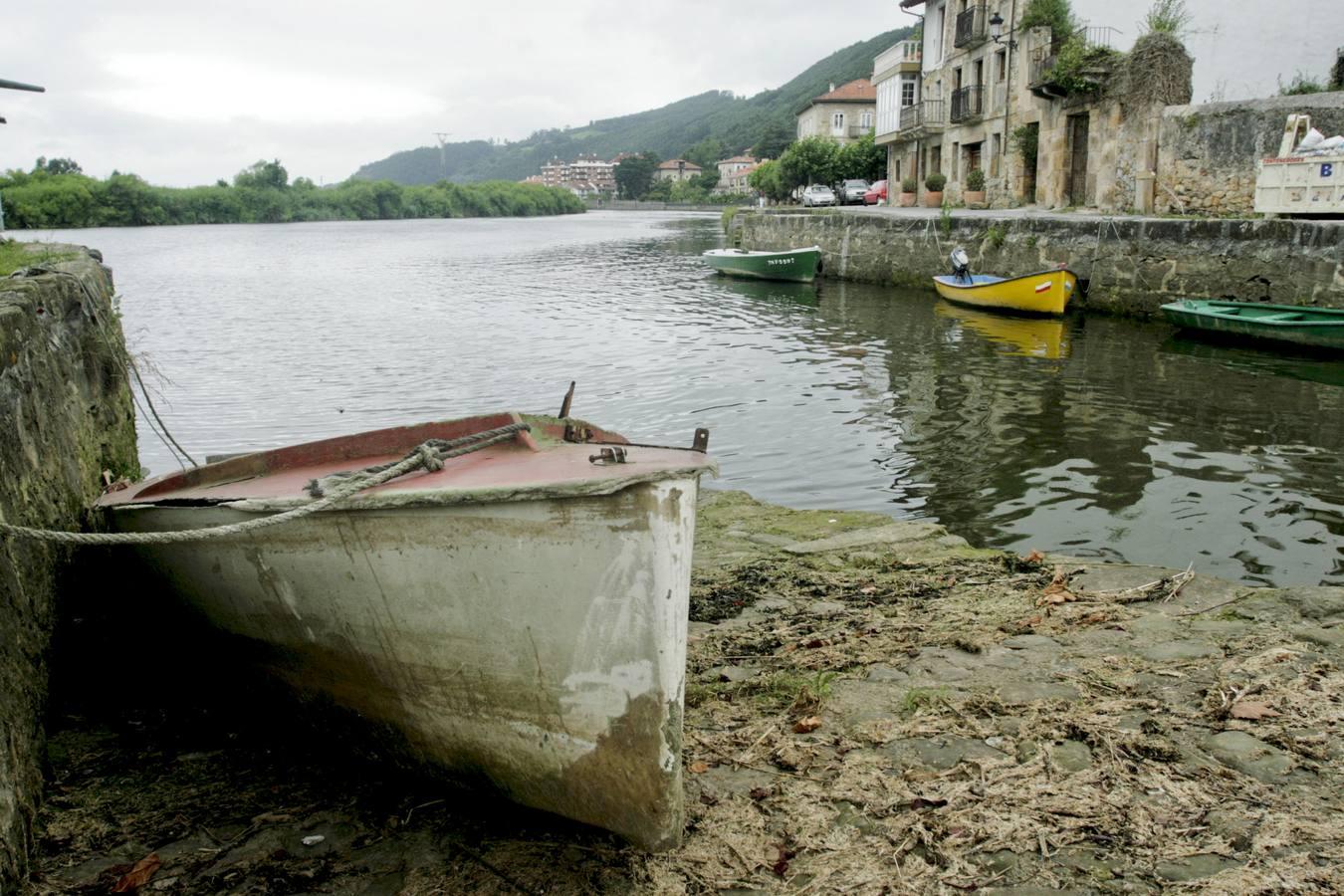 El puerto de Limpias y antigua lonja del municipio, una de las zonas beneficiadas con este proyecto./Daniel Pedriza