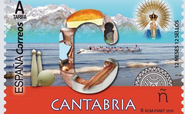 Correos emite un sello dedicado a Cantabria