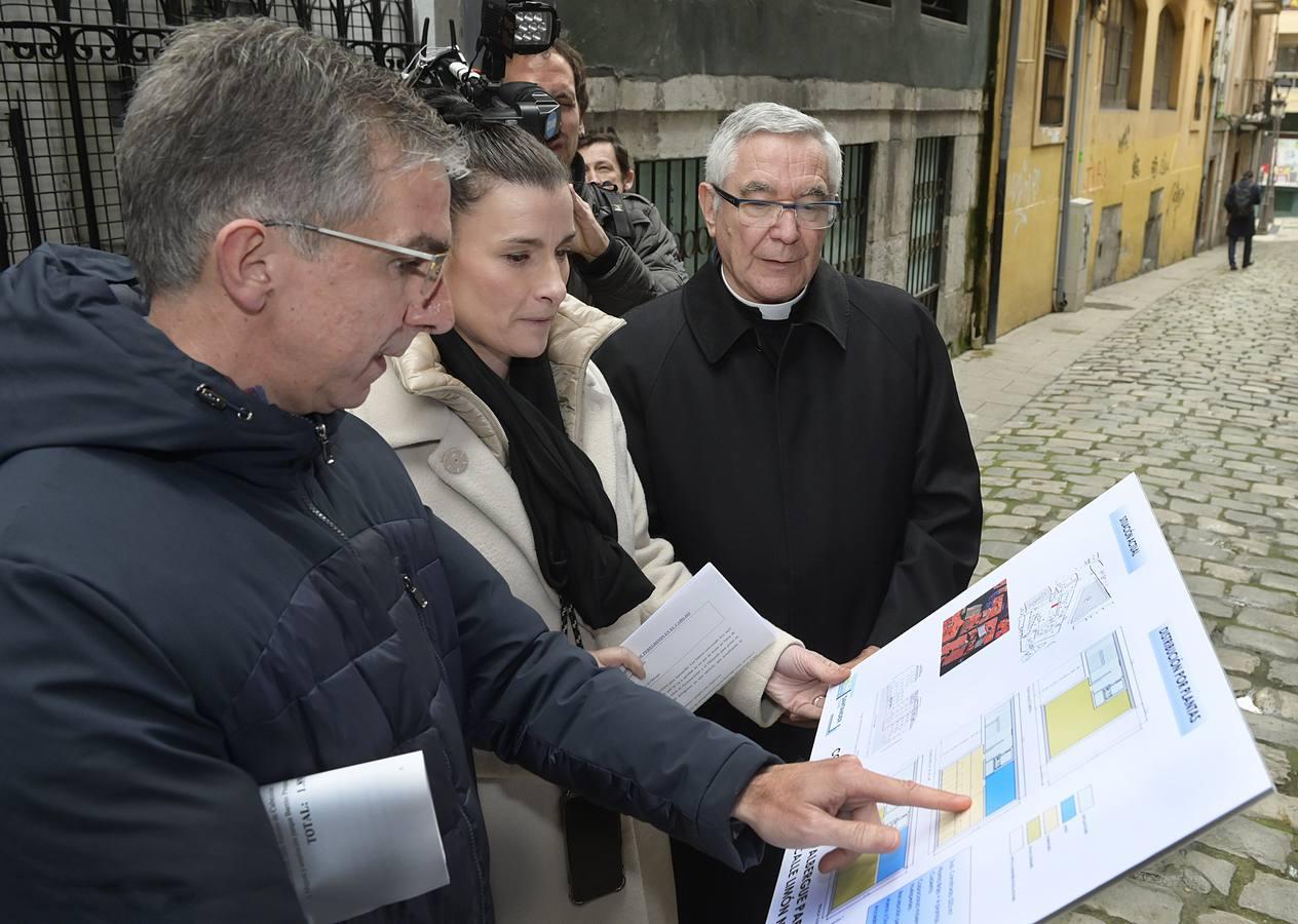 Santander invertirá casi un millón de euros en el albergue de peregrinos