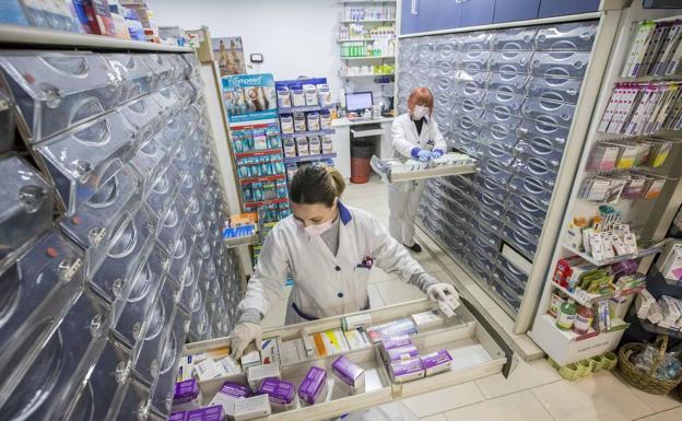 El olvido de las oficinas de farmacia
