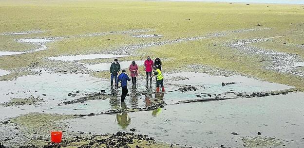 Las Mareas Ponen Al Descubierto Un Pecio Que Podría Llevar Más De 100 Años En La Ría De San Vicente El Diario Montañes