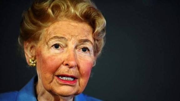 Phyllis Schlafly. /